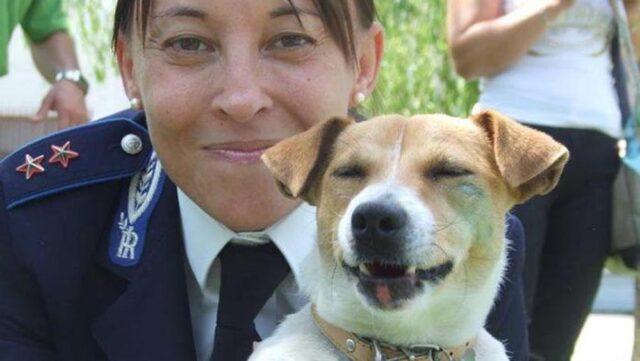 cane-poliziotta