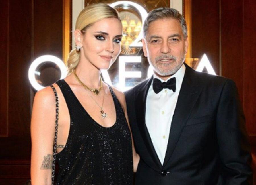 Chiara Ferragni, cena alla Nasa con George Clooney
