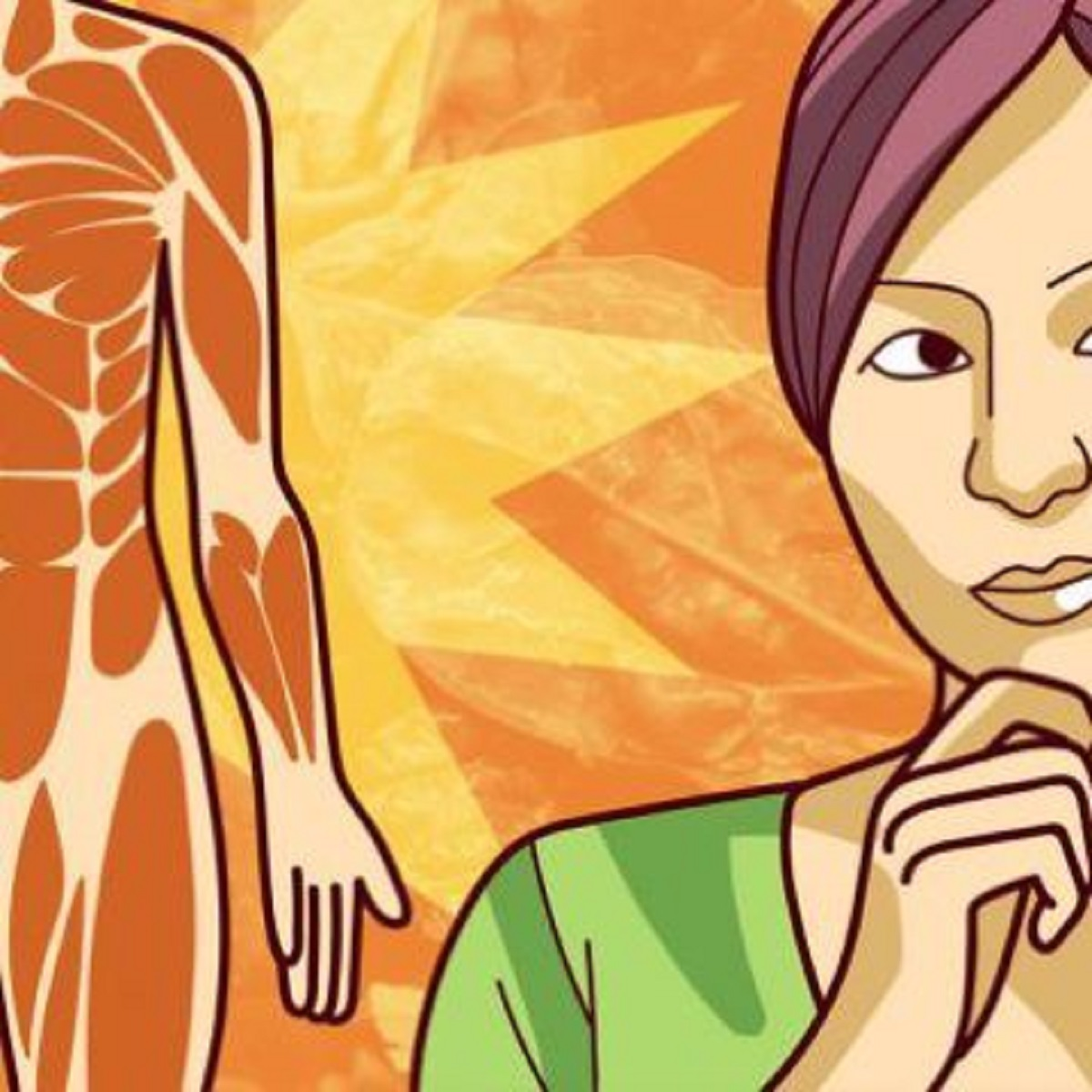 donna corpo e viso