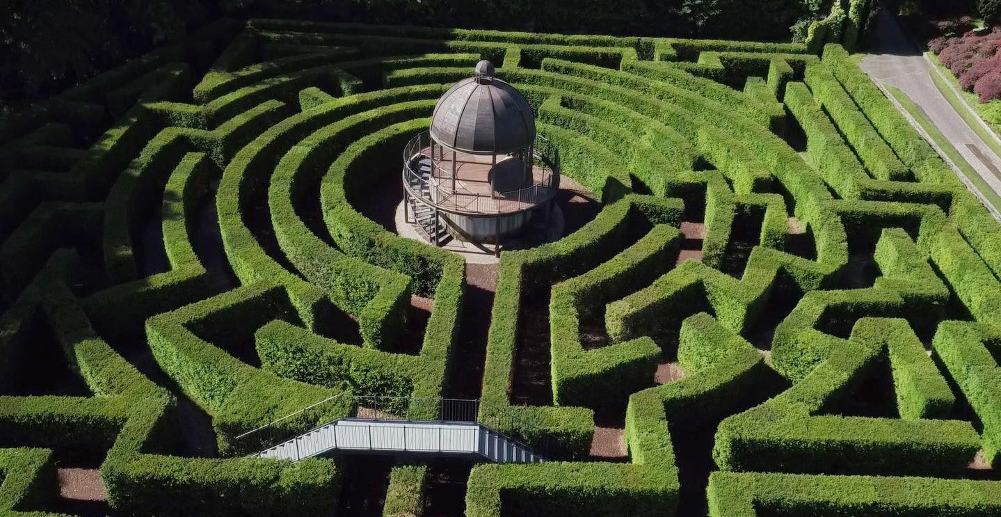 Labirinti in Italia famosi