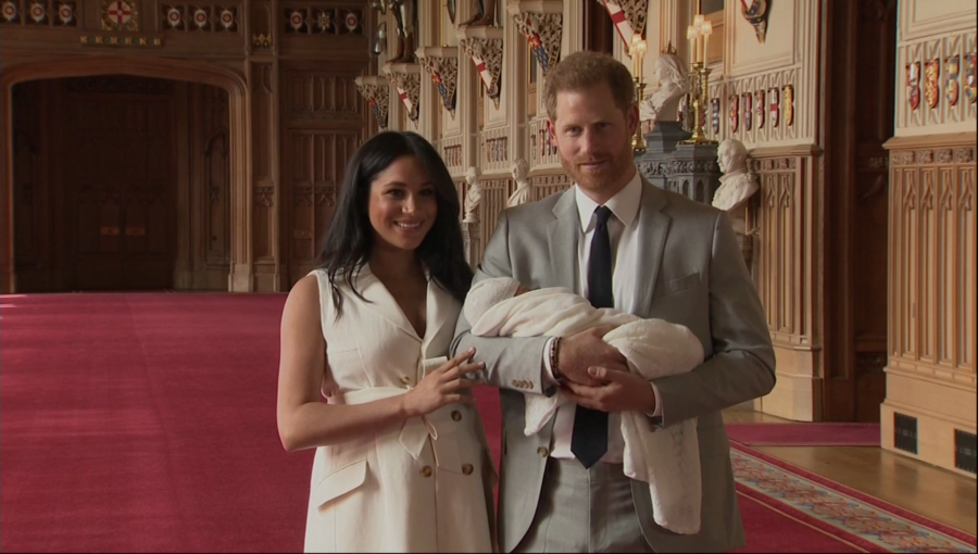 Royal Baby Archie Harrison
