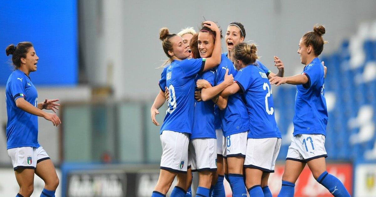 Nazionale-Italiana-Femminile-Sara-Gama-parla-dopo-la-vittoria-con-l-Australia