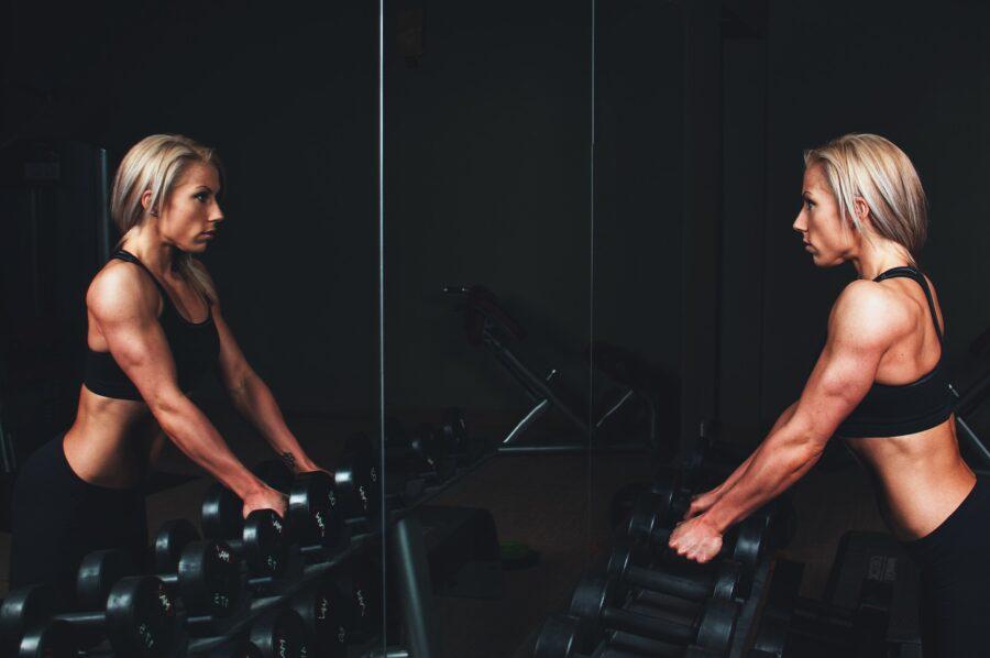 fitness per le braccia