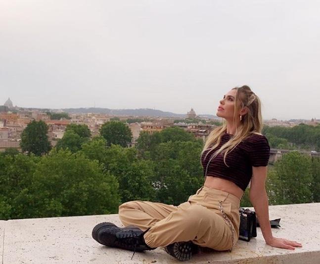 Ilary Blasi a Roma