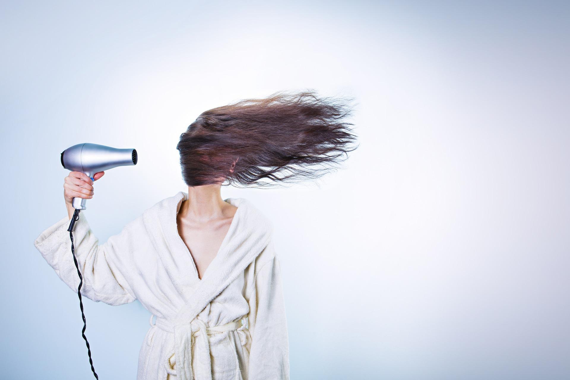 prima del phon come si asciugavano i capelli