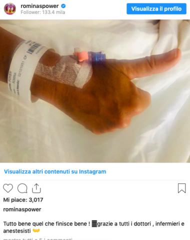 romina-power-ospedale