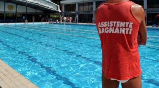 bimba-cade-in-piscina-stava-per-annegare 2