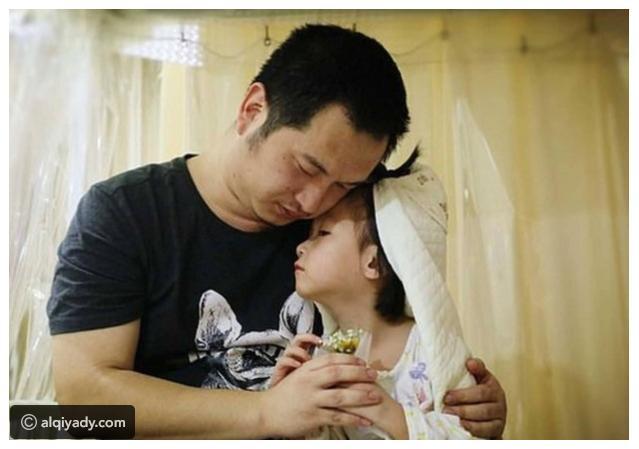 il-matrimonio-della-piccola-Yaxin-con-il-suo-amato-papà 3