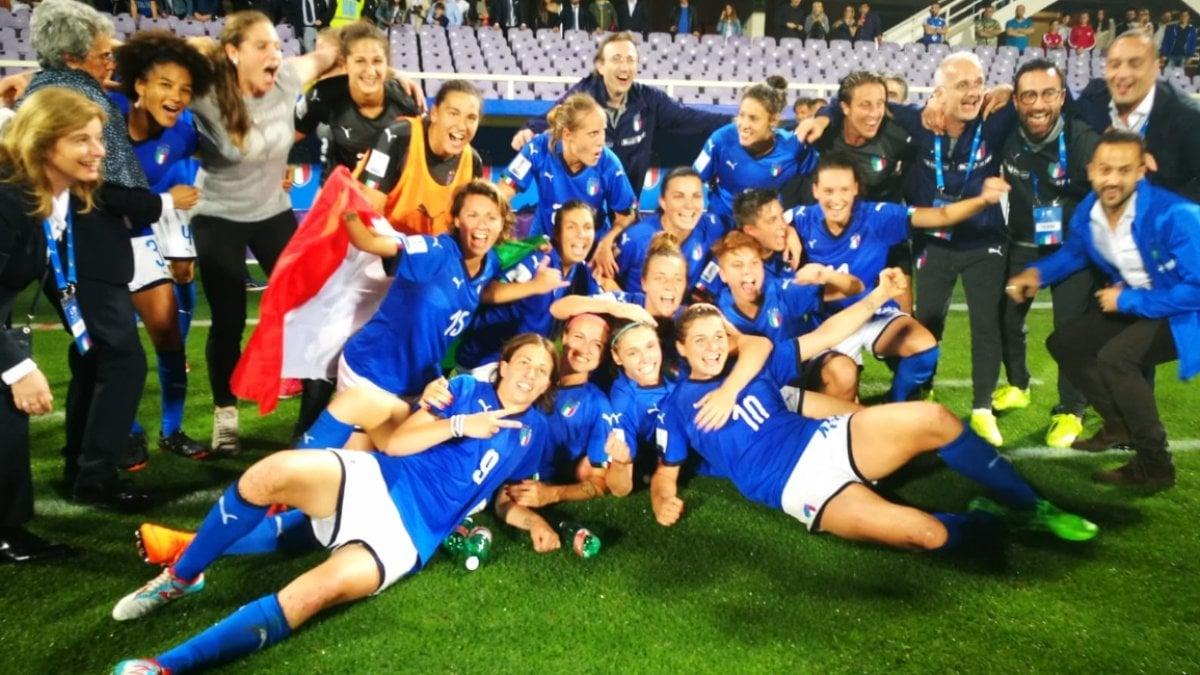 nazionale femminile italiana di calcio