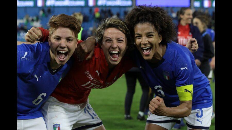 nazionale italiana di calcio femminile