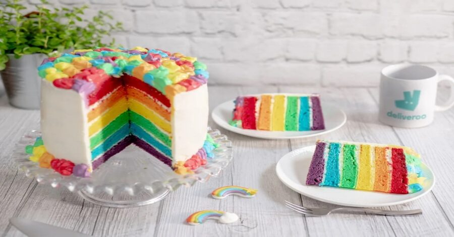 Rainbow Cake, ricetta facile