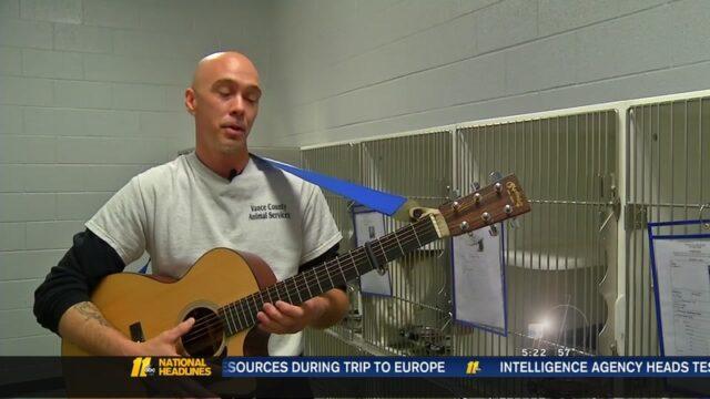 La-musicoterapia-di-Chad-per-i-cani-del-rifugio 2
