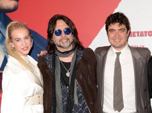 Clizia Incorvaia, Francesco Sarcina e Riccardo Scamarcio