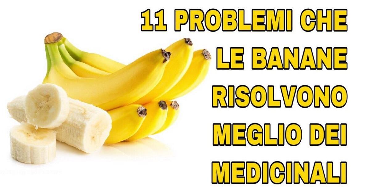 Banana quando mangiarla e perché