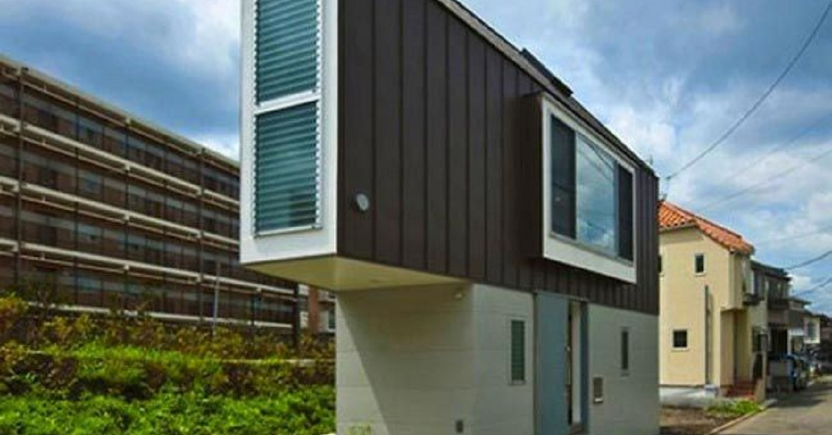 La casa dell'architetto Kota Mizuishi