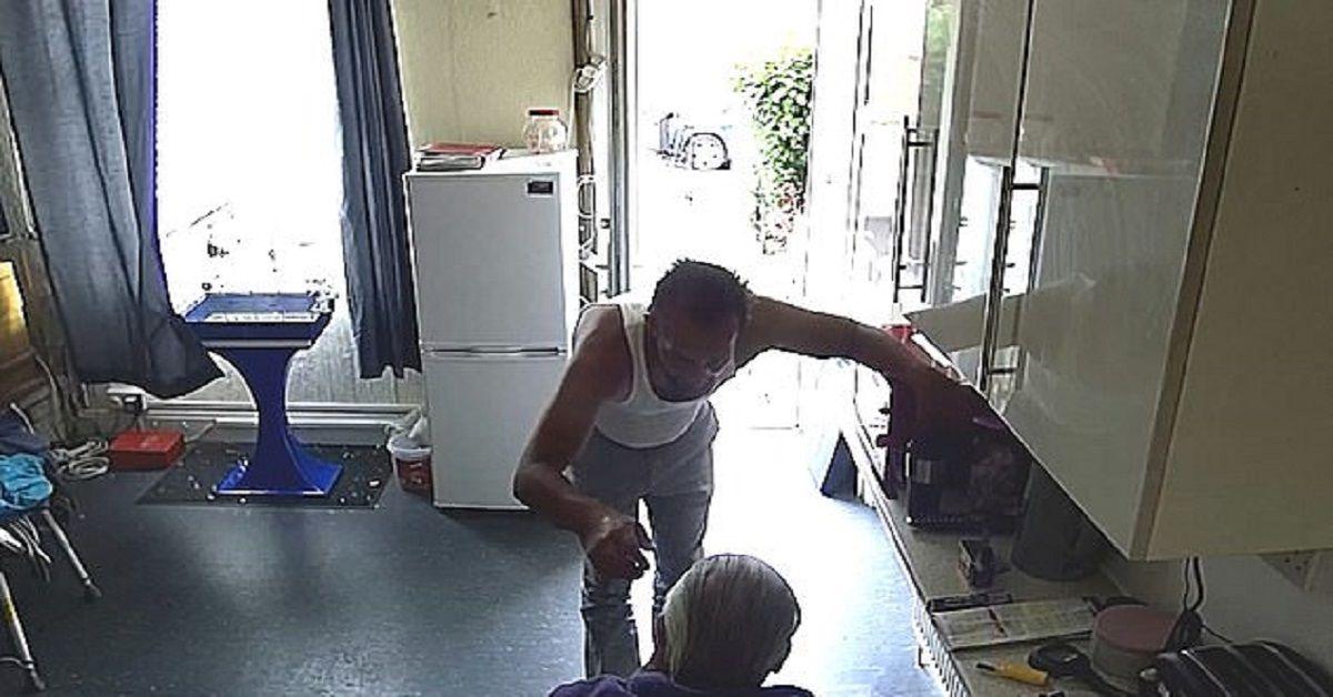 l'anziano e il ladro