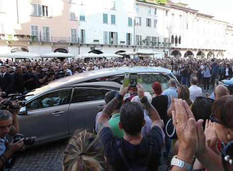 Brescia funerale Nadia Toffa
