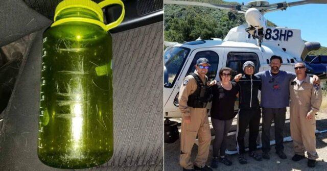 famiglia-salva-grazie-ad-un-messaggio-nella-bottiglia-erano-rimasti-intrappolati-durante-un'escursione