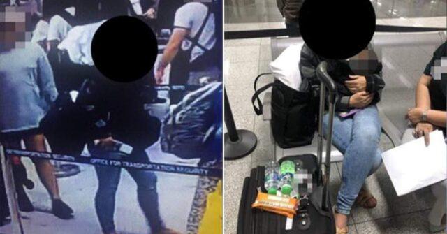 trovata-donna-che-viaggiava-con-neonata-nel-bagaglio-a-mano-fermata-ed-arrestata-dagli-agenti
