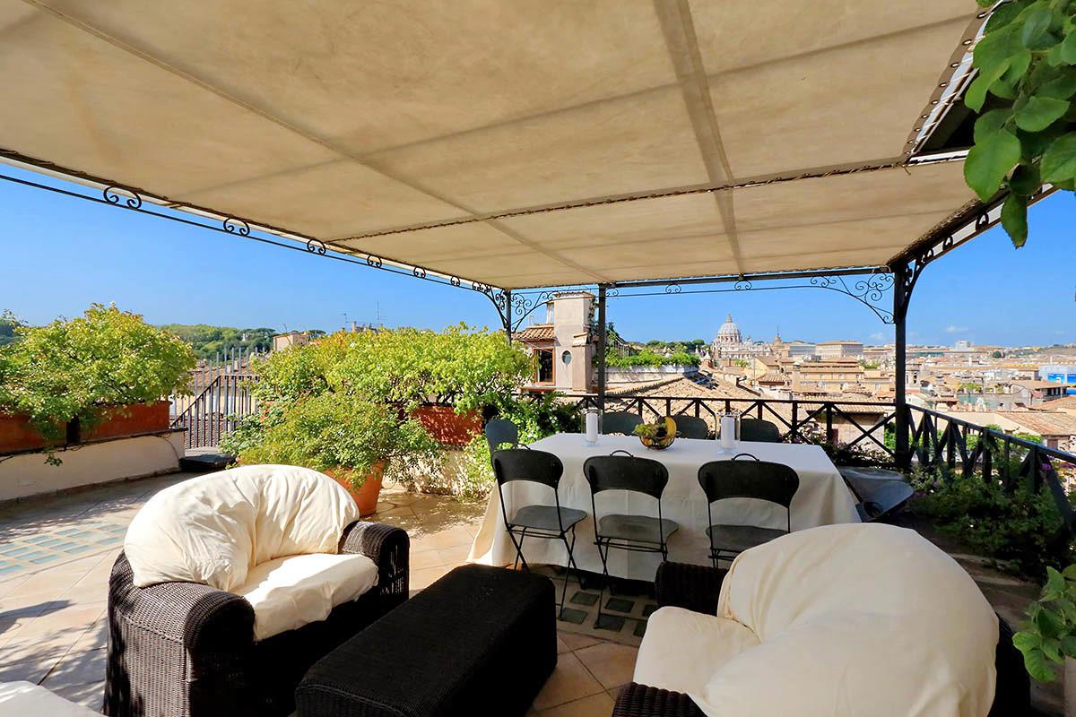 Attico in pieno centro a Roma ©Romeloft.com Srl