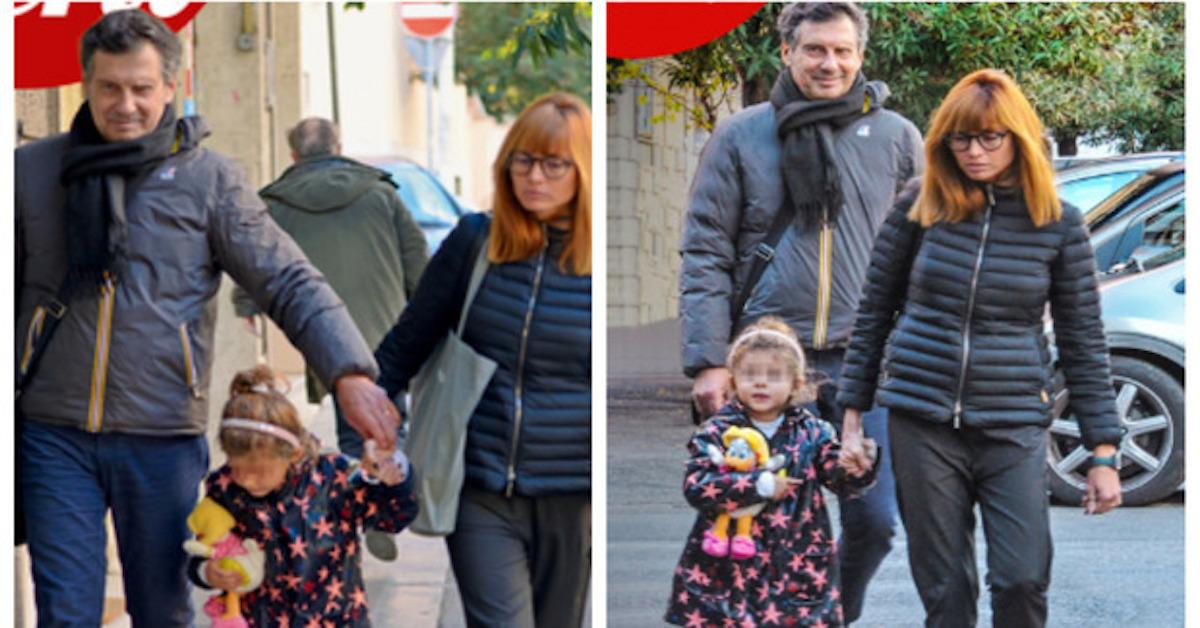 Fabrizio Frizzi: avete mai visto sua figlia Stella? Ecco la bimba nata da Carlotta Mantovan