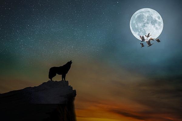 La luna piena porta sfortuna