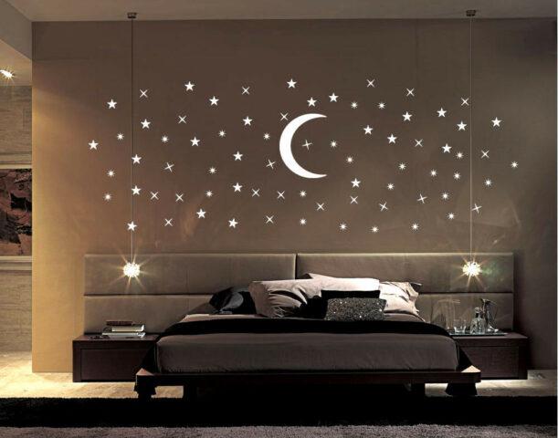 Il cielo stellato in camera da letto