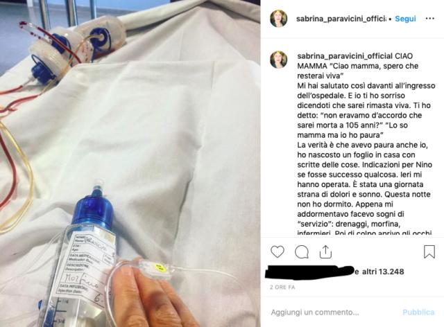 sabrina-paravicini-operata