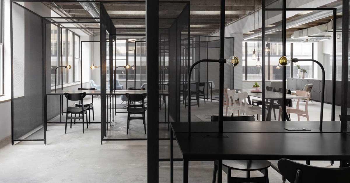 A Syracure, New York, uno spazio di coworking all'insegna della connessione visiva