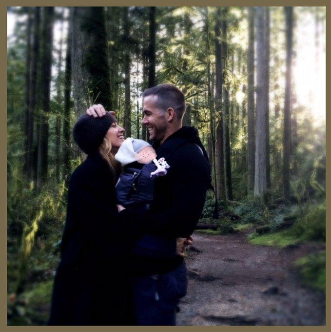 Ryan Reynolds e Blake Lively terza figlia