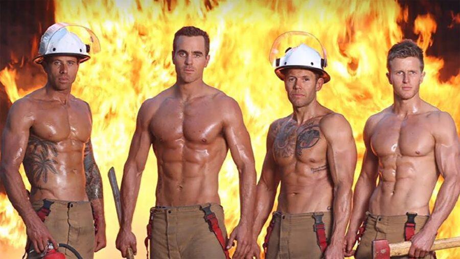 Calendari 2020, i pompieri australiani e i gattini