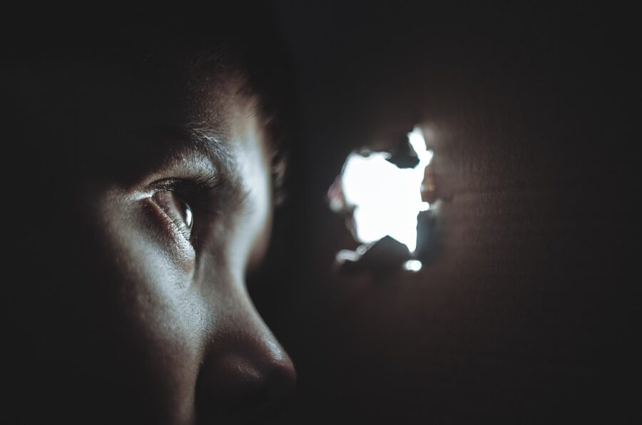 paura del buio