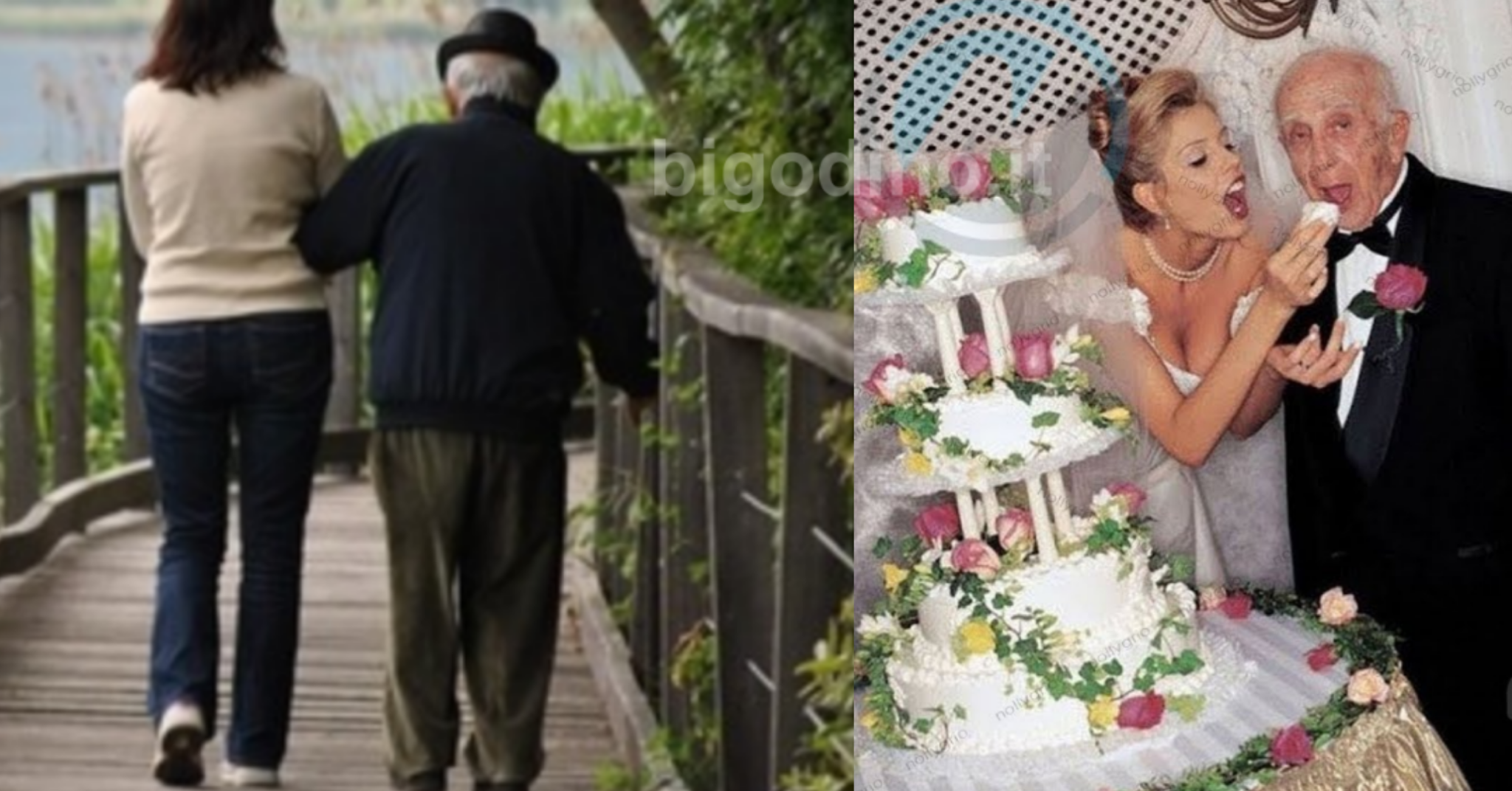 Divorzia da sua moglie per una donna molto più giovane