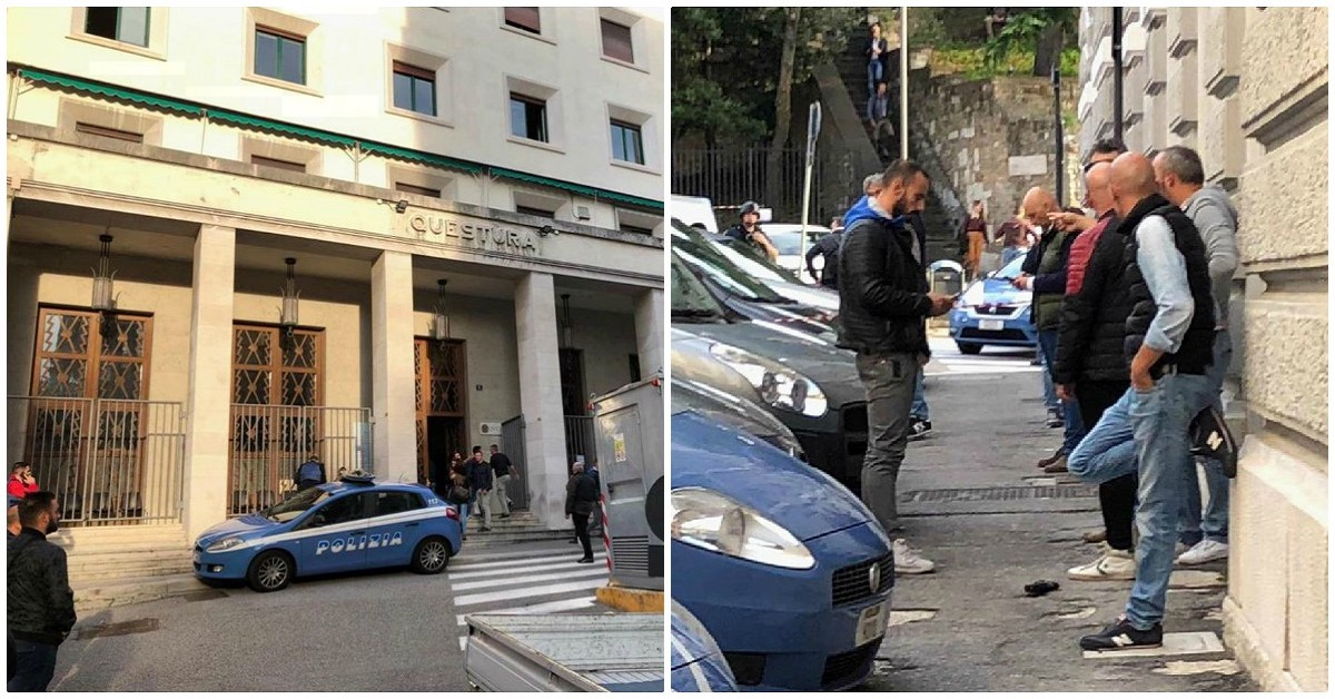 Questura-Trieste-sparatoria
