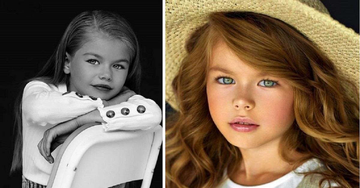 La piccola Alina ha solo 6 anni,