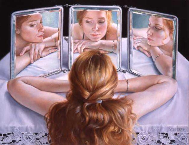 donna-specchio