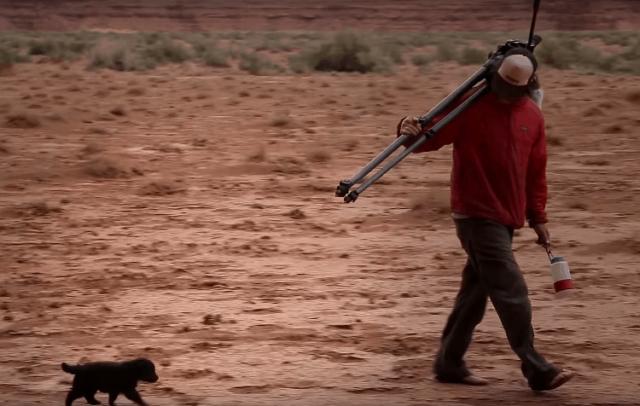 i-due-esploratori-salvano-il-cucciolo-abbandonato 2