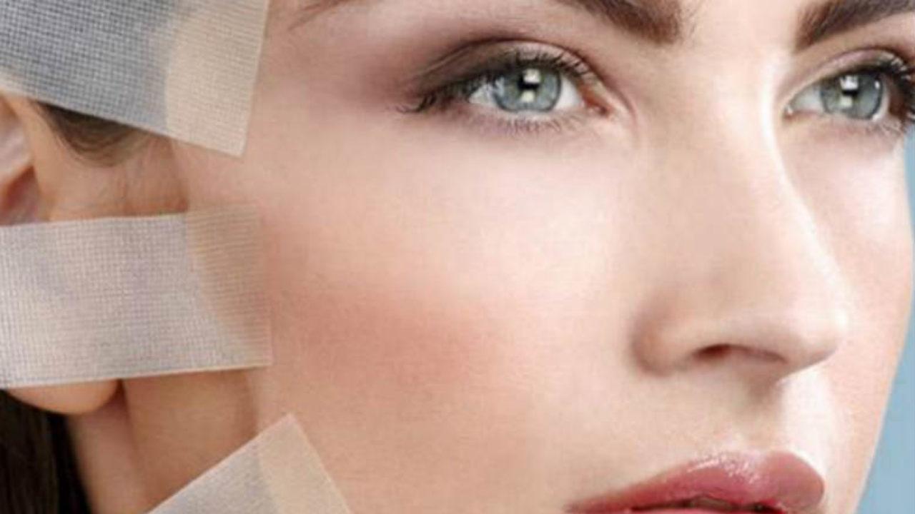 face taping