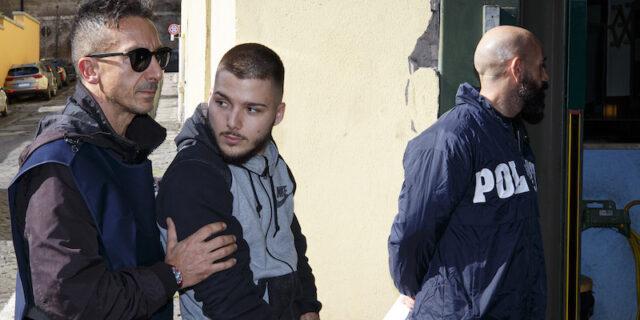Omicidio Luca Sacchi: I due giovani arrestati entrano nel carcere di Regina Coeli