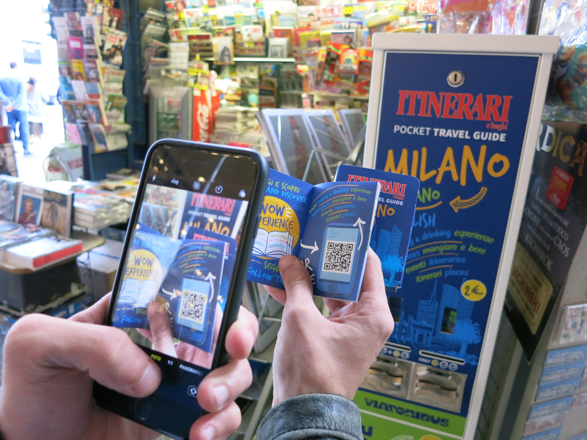 Pocket Travel Guide: ecco la prima app di carta