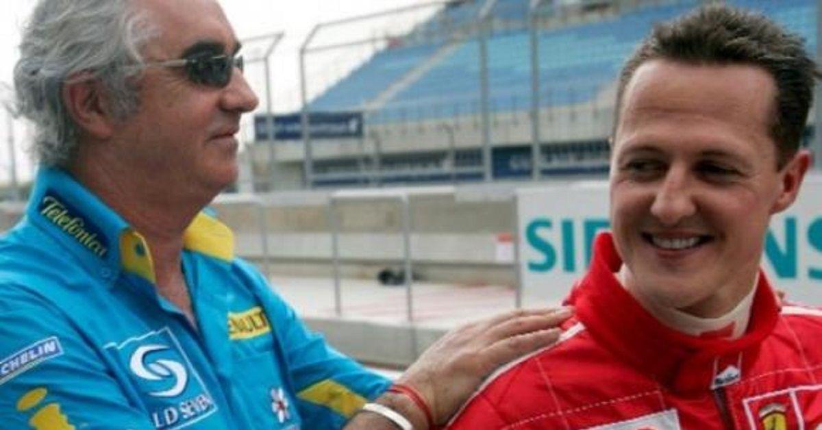 Michael-Schumacher-Flavio-Briatore