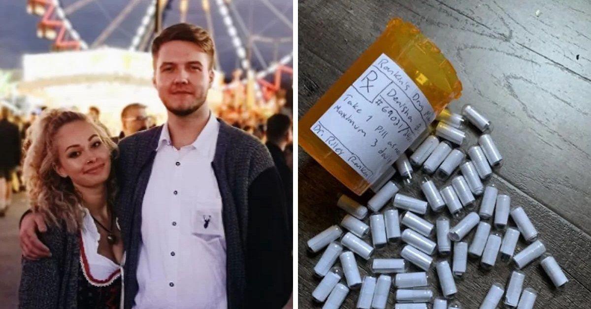 Fidanzato crea le pillole dell'amore per aiutare la ragazza ad affrontare ansia e attacchi di panico