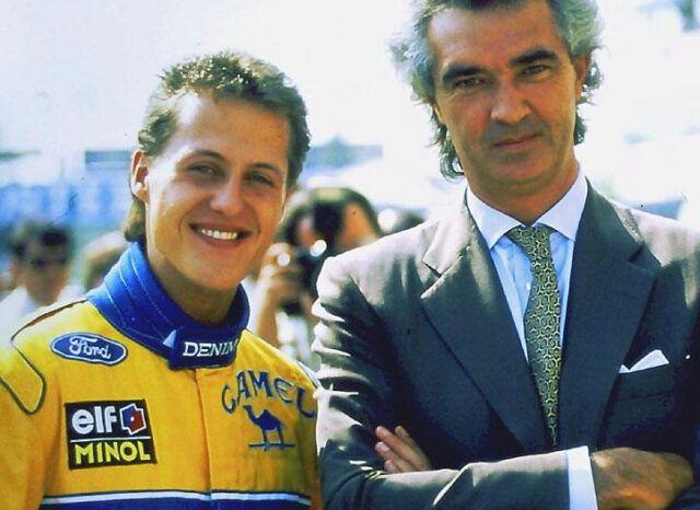 Schumacher-Briatore-Benetton