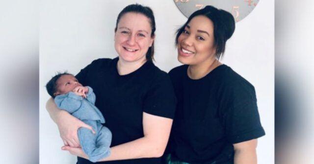La storia di Otis, il primo neonato con due madri