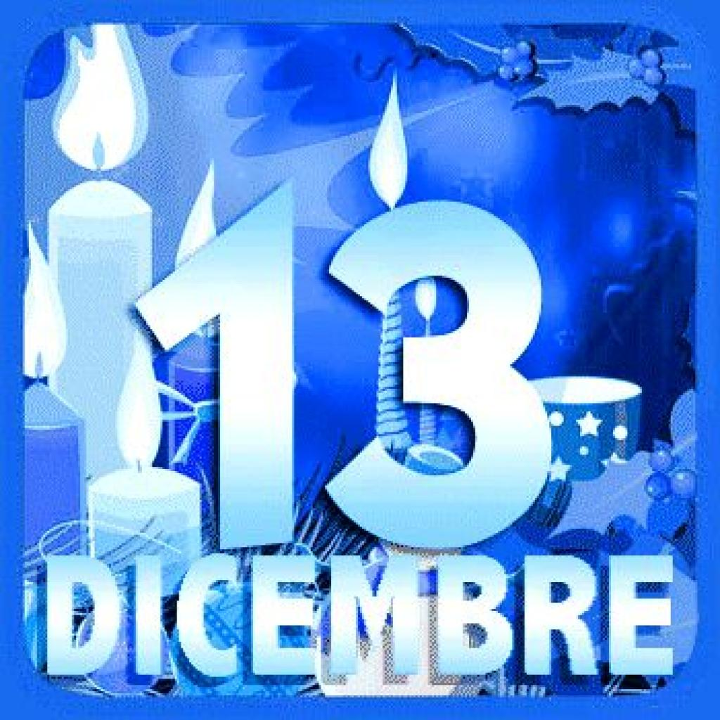 13 dicembre, il giorno di Santa Lucia