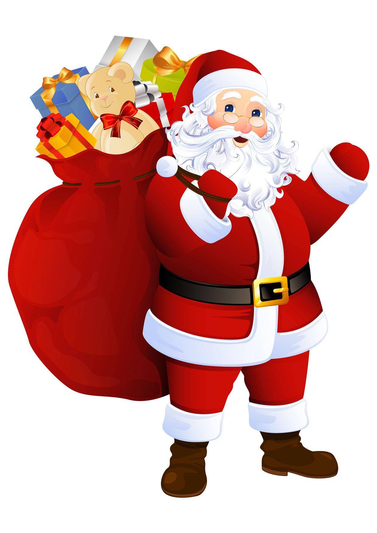 Disegno-Babbo-Natale-Colorato