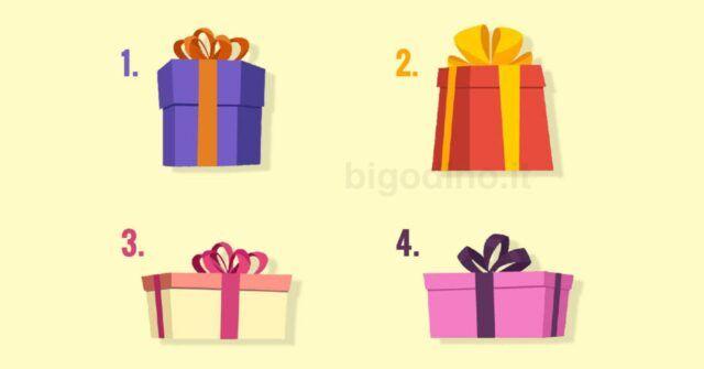 Scegli un regalo