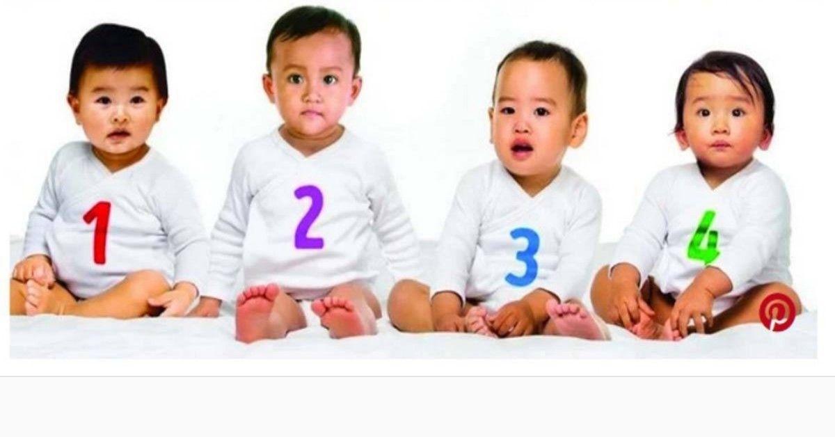 Chi è la femmina tra questi quattro bimbi?