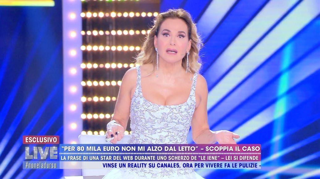 Live Non è la D'Urso, Barbara D'Urso confonde Chiara Nasti c