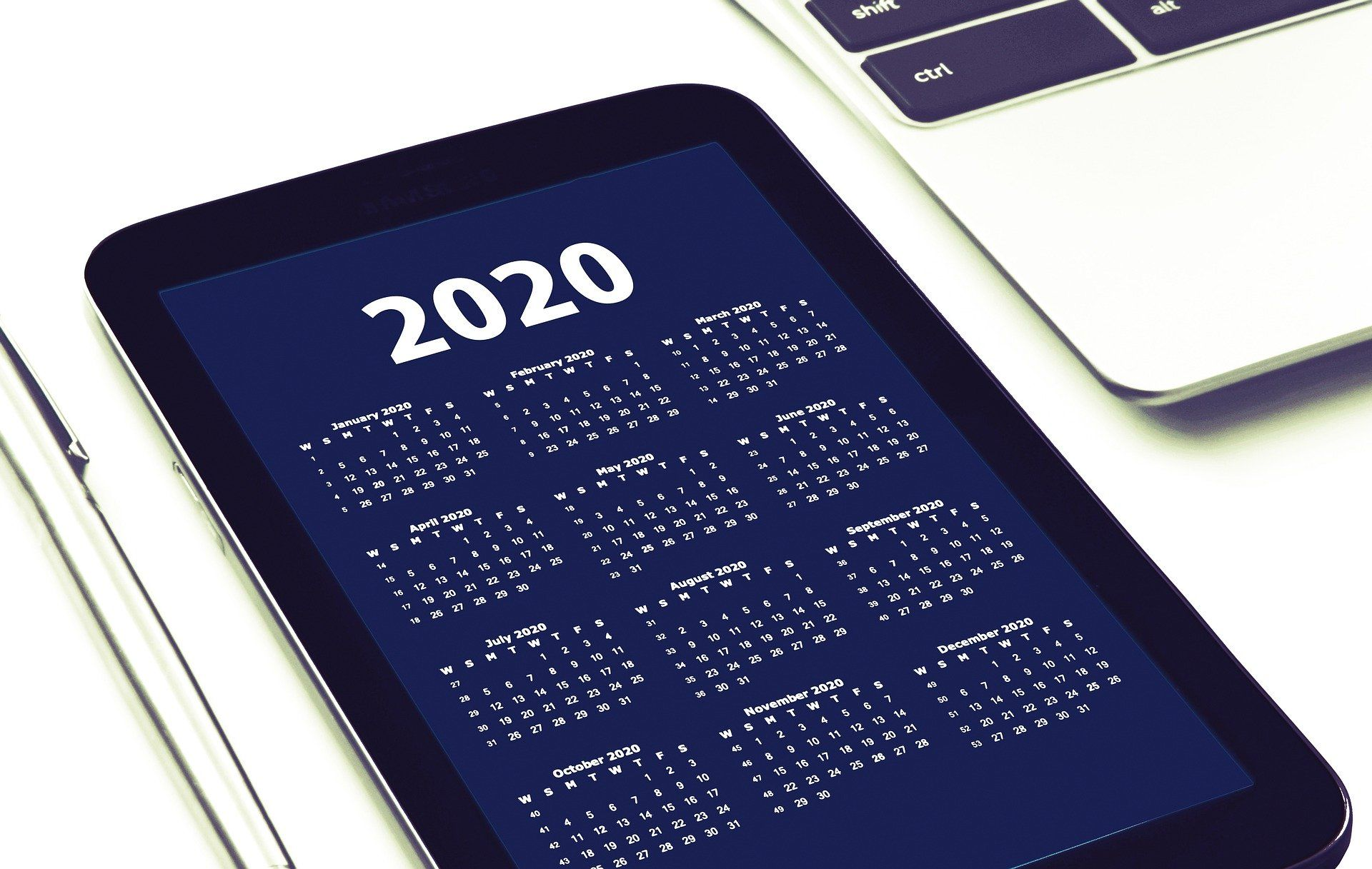 Feste e ponti del 2020